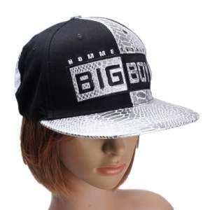 Teamtop Women Men Snapback Baseball Cap Visor Hip Hop Bboy Kpop Leather Hat Adjustable - intl