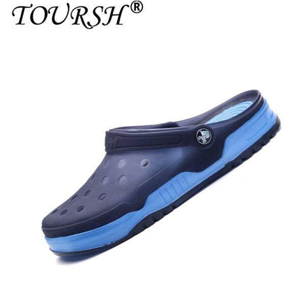 toursh men clogs mens beach slippers men garden shoes mule clogs intl singapore - Mens Garden Shoes