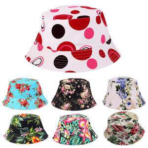 27418242b30 Unisex Men Women Boonie Hunting Fishing Outdoor Cap Floral Bucket Sun Hat  11