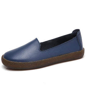 ZOQI Summer Women Oxford Shoes Flats Shoes Women Leather Shoes Moccasins Lady Ballet Loafers Shallow Shoes