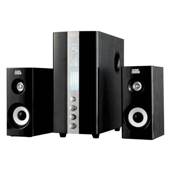 Sonic Gear Evo 5 Pro 2.1 PC Speakers - Black Malaysia