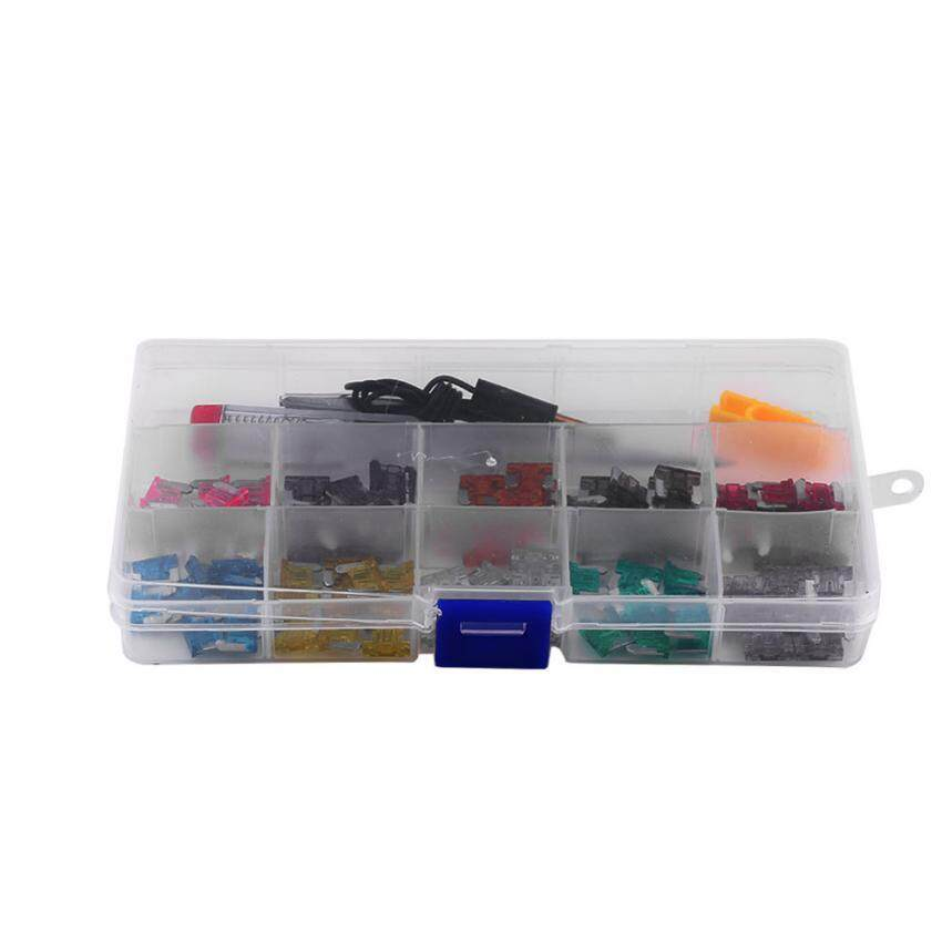 100pcs 3a-35a Assortment Micro Mini Blade Fuse Set Kit For Car Auto Truck Suv - Intl By Duoqiao.