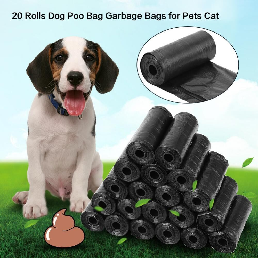 20 Rolls Pet Poop Bags Dog Cat Waste Pick Up Clean Bag(ready Stock) - Intl By Rongshida.
