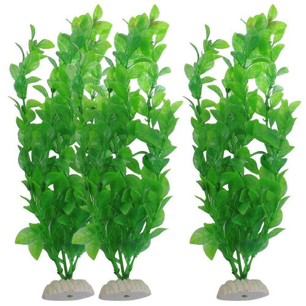 Aquariums For Sale Fish Aquarium Online Brands Prices Reviews How To Get More Light Cheaply Diy Style Tropical Keeping 3 Piece Tank Green Plastic Artificial Plants 106 Height Intl