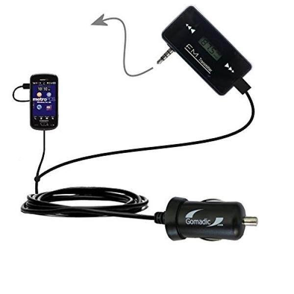 3rd Generasi Kuat Audio Fm Pemancar dengan Pengisi Daya Mobil Yang Sesuai untuk Samsung Ketrampilan-Menggunakan Gomadic Tipexchange Teknologi- internasional