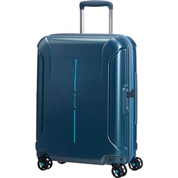 American Tourister Technum Spinner Hardside 20, Metallic Blue - intl