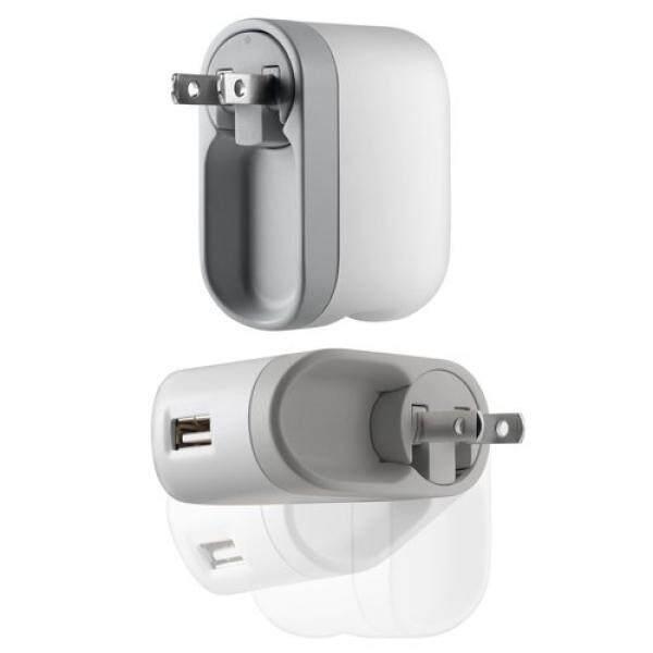 Belkin USB/AC Pengisi Daya Berputar-F8Z222 (Hanya Pengisi Daya-Kabel USB Tidak Termasuk)-Internasional
