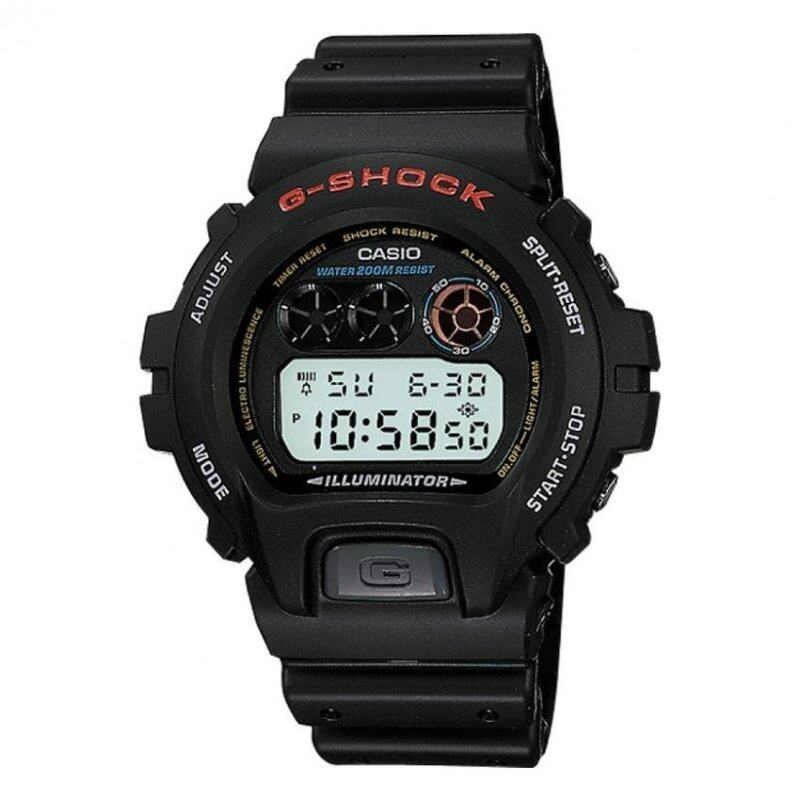 Casio G-shock Dw-6900-1v Mens Watch (Black) Malaysia