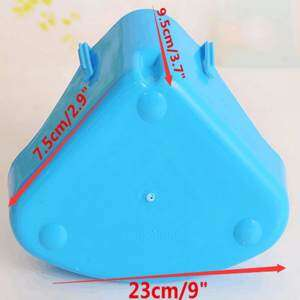 Hình thu nhỏ sản phẩm Corner Toilet Litter Pee Tray For Animal Cat Kitten Rabbit Hamster Guinea Pig Color random