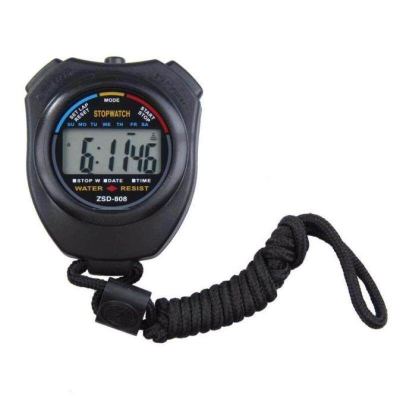Digital Professional Handheld LCD Chronograph Sports Stopwatch Stop Watch Malaysia