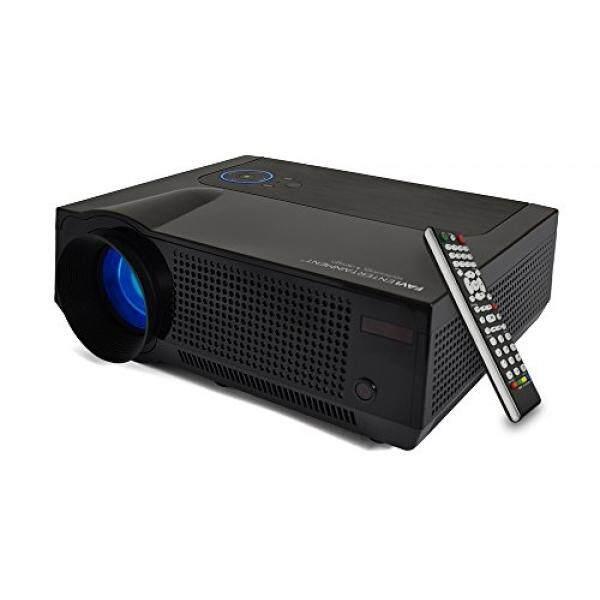 Favi 4 T Ultra LED Cerah LCD (HD 720 P) Proyektor Bioskop Rumah-US Versi (Termasuk Garansi) -Hitam (RIOHDLED4T-US4)-Intl
