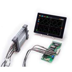 Hantek PC Profesional Berdasarkan 4 USB Channel Digital Storage Virtual Oscilloscope 70 MHz Bandwidth 4 CH