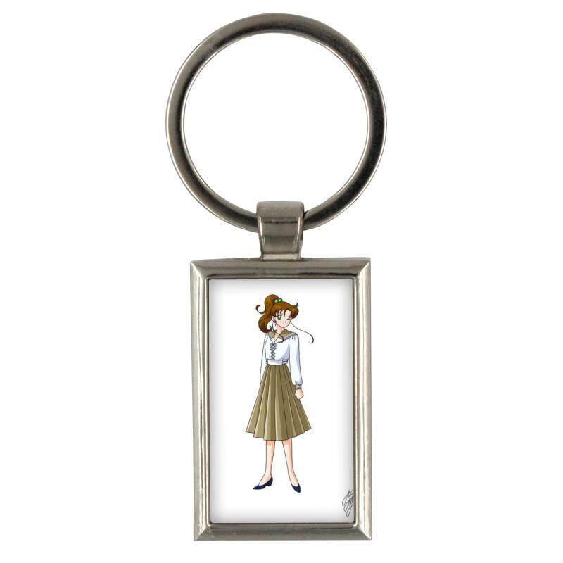 Harga gantungan kunci tu meng ying sailor bulan untuk gantungan kunci pria creative paduan logam keyfob