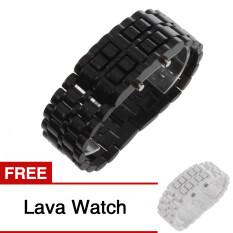 Jam Tangan Digital LED Samurai Lava Plastik Gaya For Olahraga For Pria untuk Wanita, China Uniseks Membeli 1 Mendapatkan 1 Gratis -Internasional
