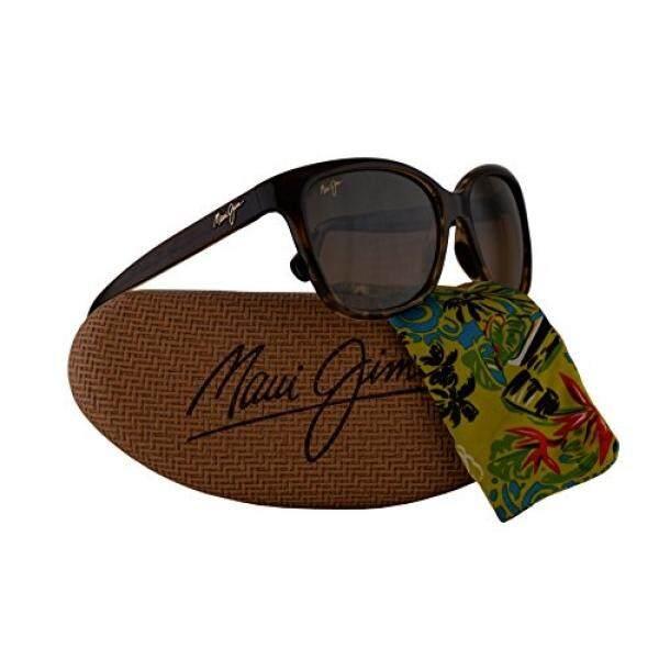 65c21d5c5b Maui Jim Starfish Sunglasses Translucent Chocolate Tortoise w Polarized  Bronze Lens MJ744-01T -