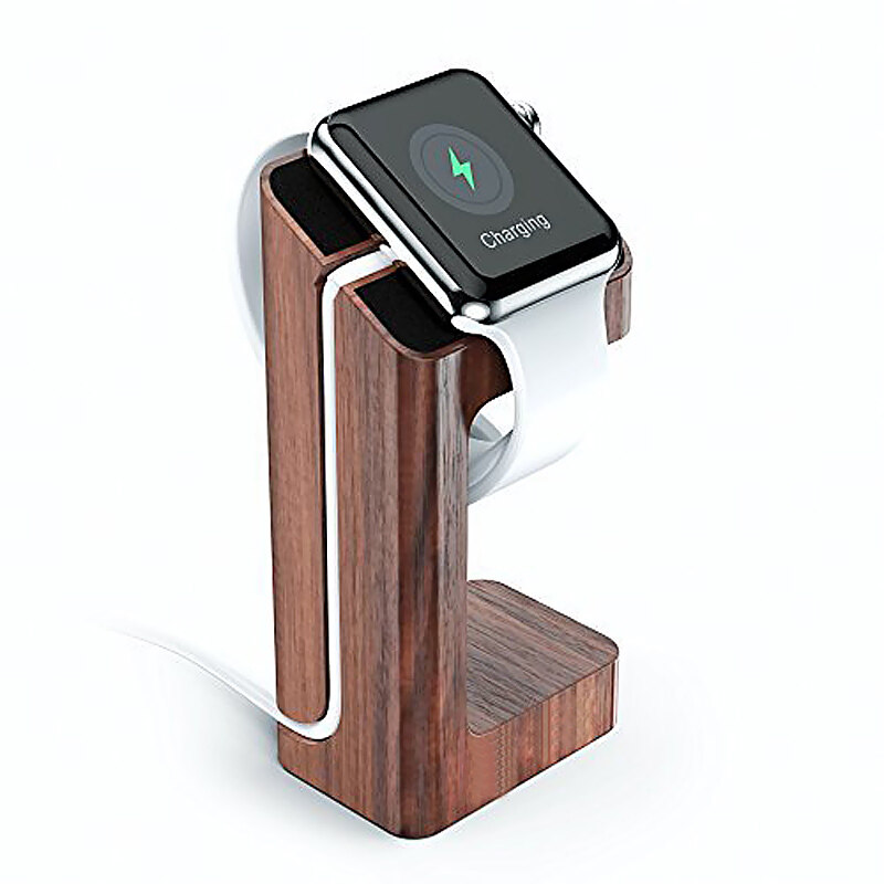 New Wood Stand Holder Charging Dock Charger Station Mount Base For Watch Malaysia