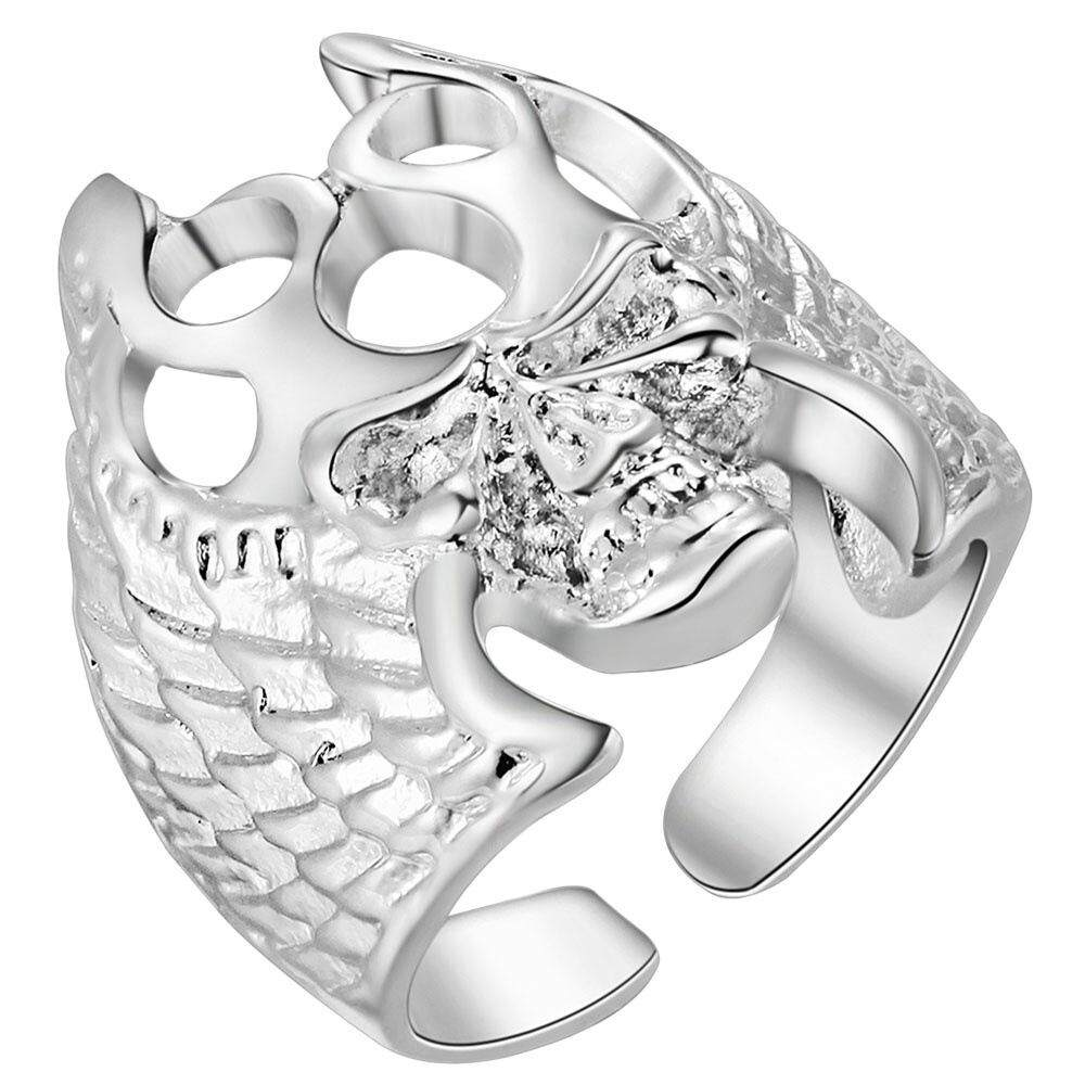 【GoodPrice-Fashion】OEM Skull Bone Jewelry Jewelry Factory Boys Ring Opening International Alive.