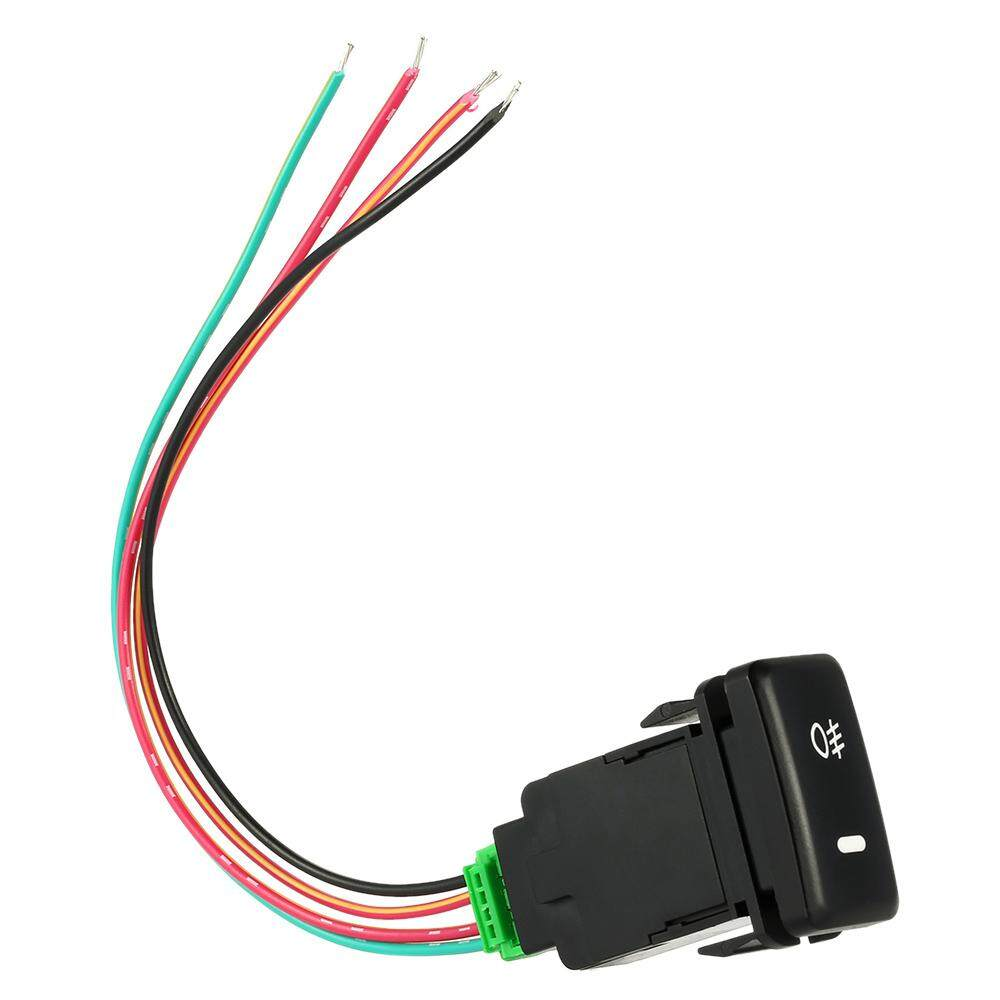 On-Off Push Switch With Working Light Bar Indicator Driving Fog Lamps Switch For Toyota Vigo - Intl By Tomtop.