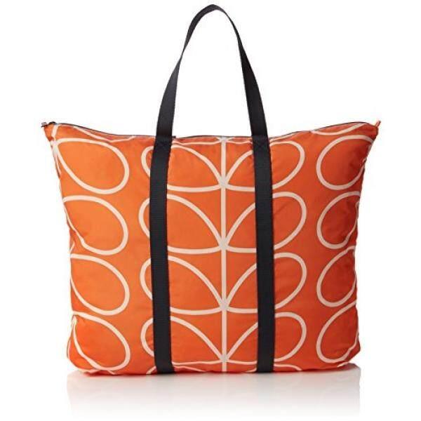 4e277b678365 Orla Kiely Womens Giant Linear Stem Foldaway Travel Bag
