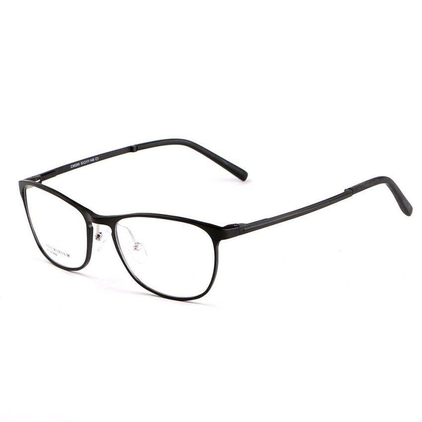 Stallane Fashion Baru Optik Kacamata Minus Frame Holder Bisnis Eyewear  Nyaman Aluminium Tontonan Besar Bingkai Kacamata 3aca1d3dad