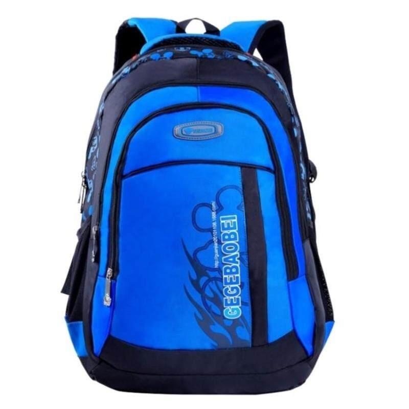 TEEMIMickey Print Primary Secondary Nylon Waterproof School Bag Kids Children Boy Girl Backpack - intl
