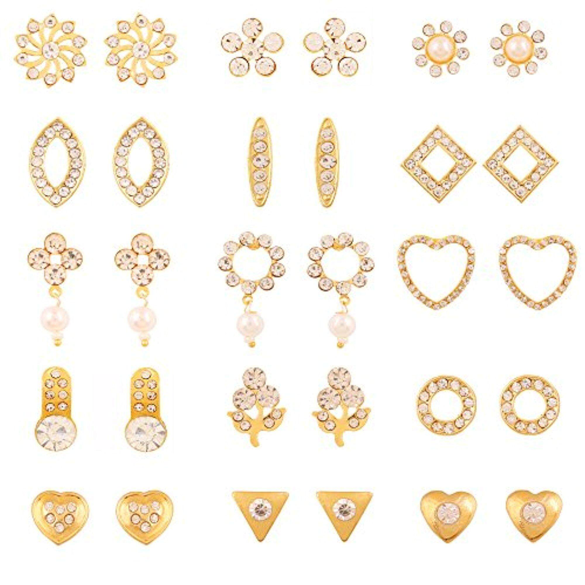 ct wear real workwear designs certified diamond pin earrings gold daily solid