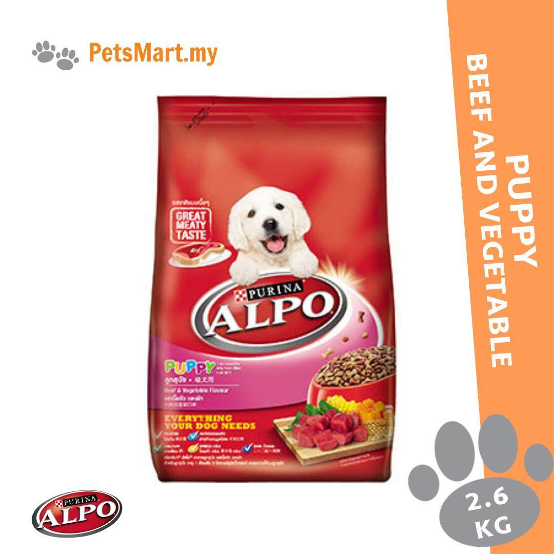 Alpo Puppy Beef & Vegetable 2.6KG Dry Dog Food