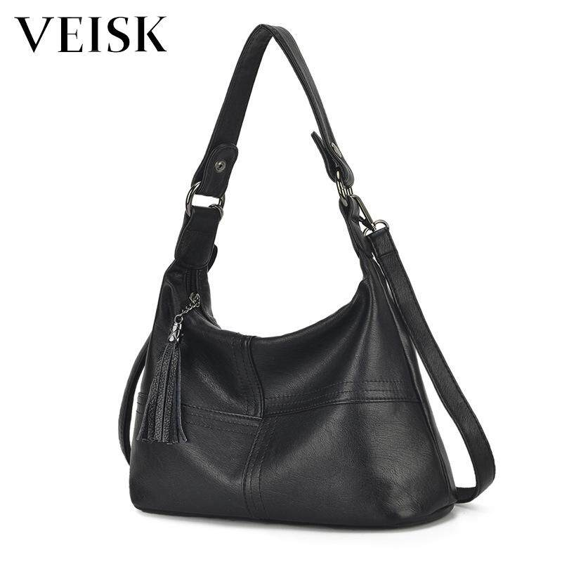 VEISK Women Messenger Bags Female Leather Crossbody Shoulder Bags. Women High Quality Ladies Car Hire Handbag