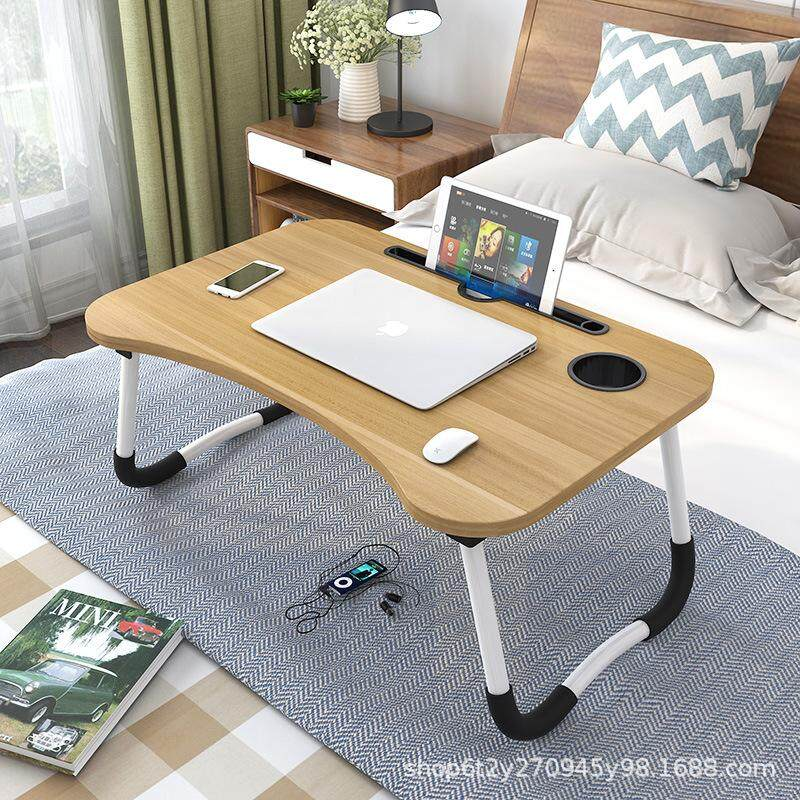 Lazy Desk Notebook Computer Desk Bed With Students Dormitory Artifact Simple Folding Table