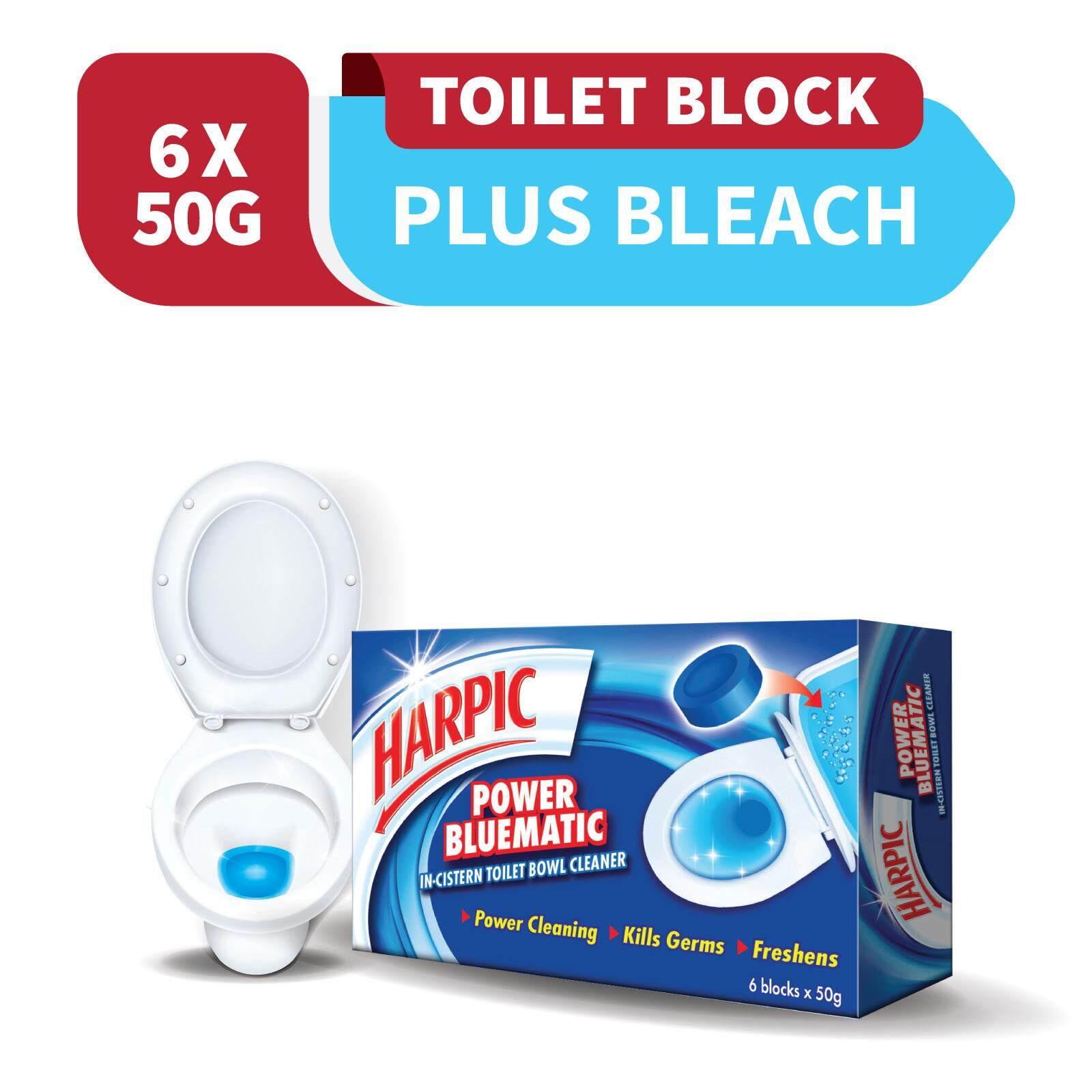 Harpic Bluematic 50g x 6