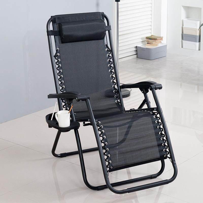 Loungers Folding Lunch Break Couch Office Folding Chair Backrest Terrace/patio Lazy Leisure Beach Chair