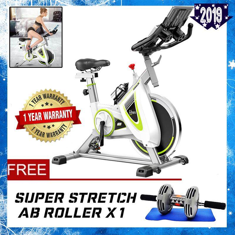 HANMA XC Stainless Steel Dynamic Wheel Bicycle Spring Exercise Bike For Indoor Cycle Trainer & Gym