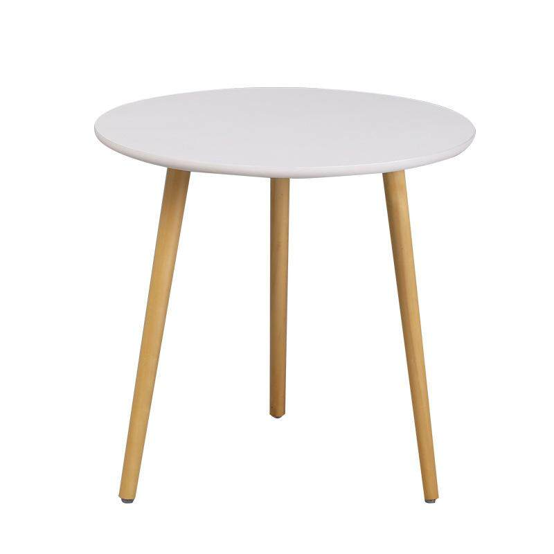 Nordic Solid Wood Simple Small Tea Table Mini Small Round Table Coffee Table Small Corner A Few Can Be