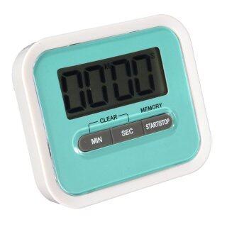 Magnetico Temporizador Kỹ Thuật Số LCD Contador Cocina Huevo Nevera Bip Alarma Hẹn Giờ Màu Xanh thumbnail
