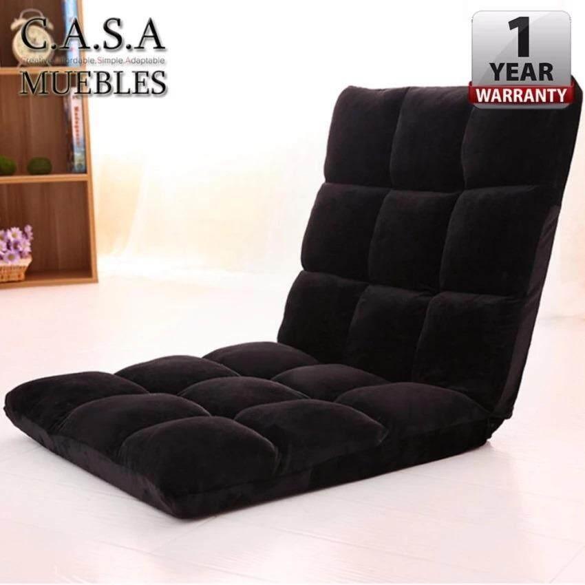 Casa Muebles 110 Cm X 40 Foldable Adjule Reclining Futon Long Sofa Chair