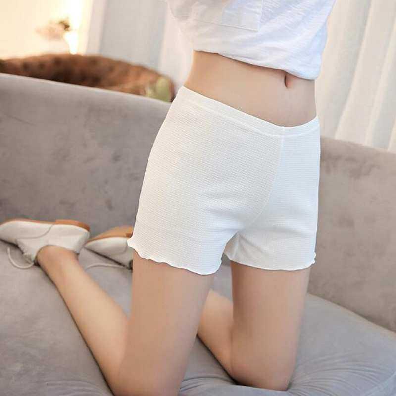 Girlhood Korea Korean fashion legging for exposGirlhood Korean Korea fashione-White preventing