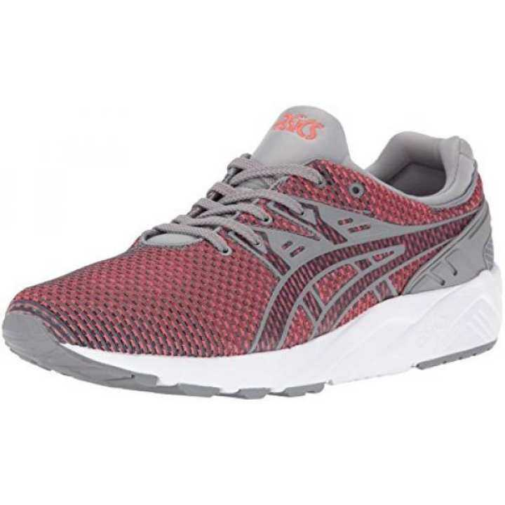 ASICS Mens Gel-Kayano Sneaker, Trainer Evo Fashion Sneaker, Gel-Kayano Grey/Guava, US 851d9e