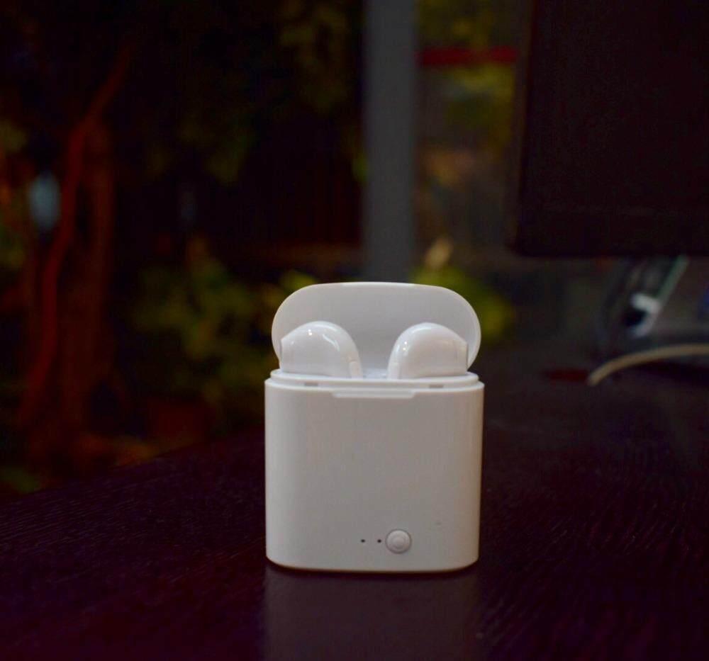 เว็บที่ขายถูกที่สุดอันดับที่ 1 หูฟัง Unbranded/Generic หูฟังบลูทู ธ ใหม่ I7 Bluetooth V4.2 หูฟังสเตอริโอหูฟังสำหรับ IOS Android - intl มีโปรโมชั่น ลดราคา