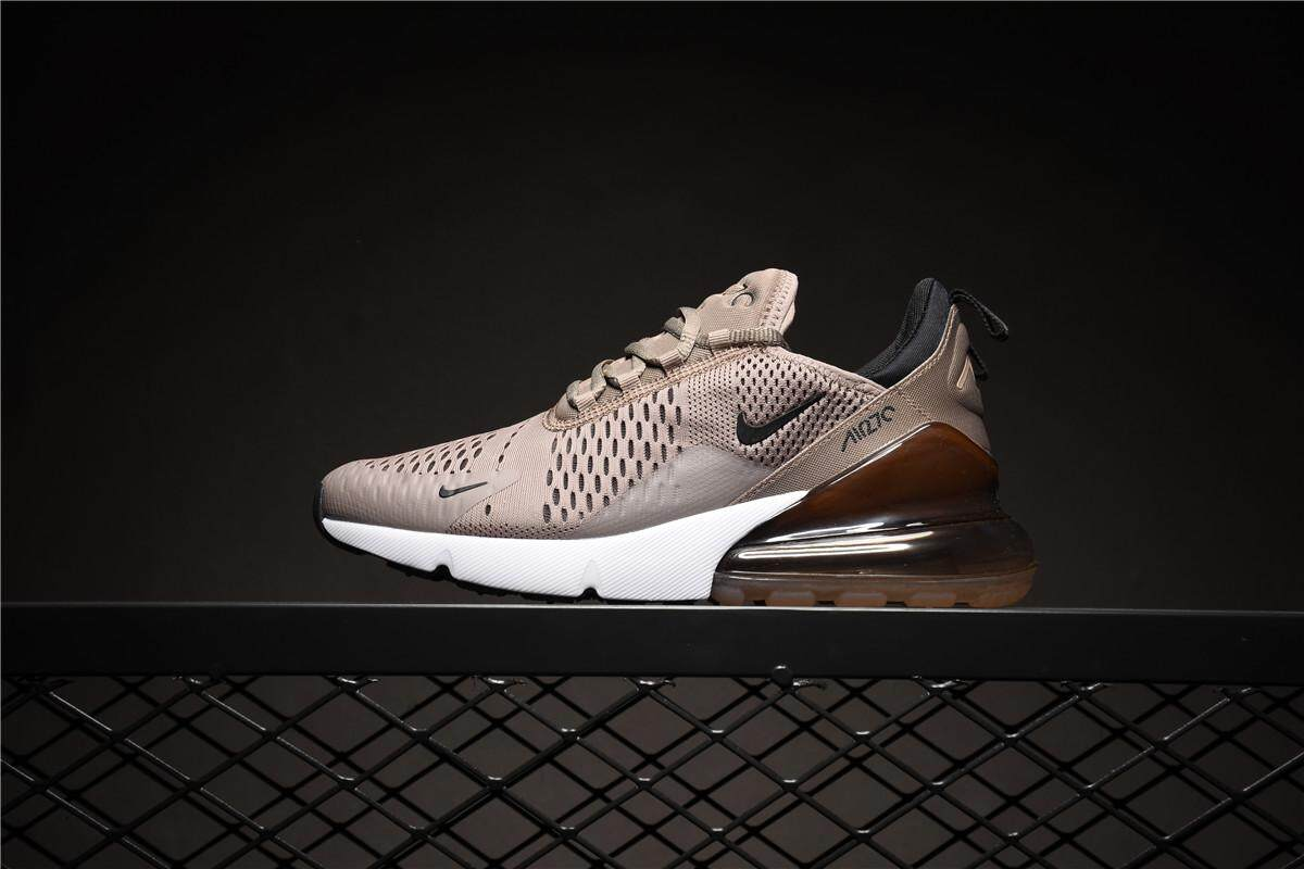 new style 9291d 7b5be NIKE AIR MAX 270 Men s Running Sneaker Fashion Casual Sport Shoes (Brown)
