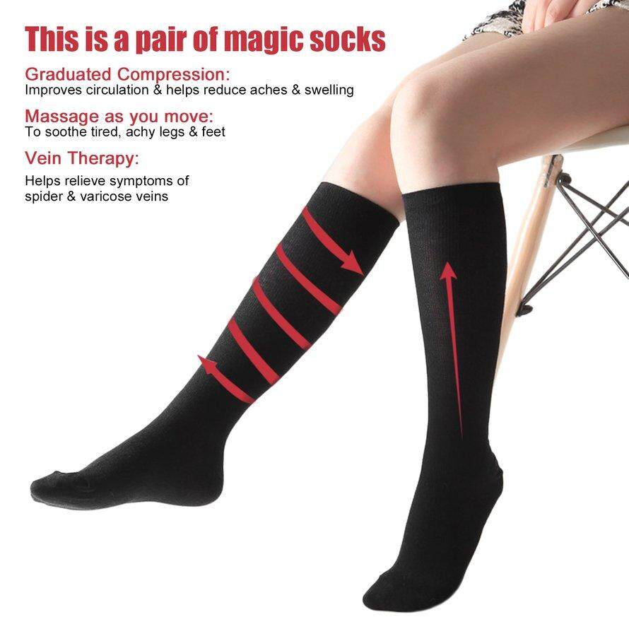 634e377cf10db1 Product details of OSMAN Comfortable Relief Soft Unisex Miracle Copper Anti-Fatigue  Compression Socks S/M