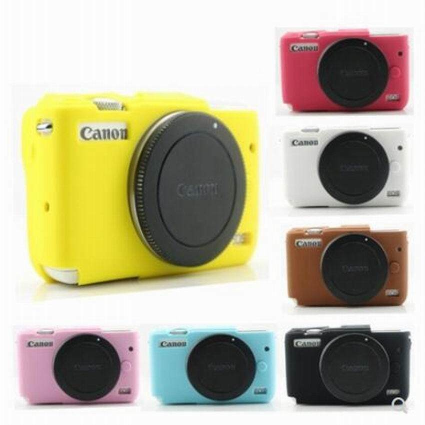 Soft Silicone Camera Case Rubber Cover Skin Bag For EOS M100 Protective Body