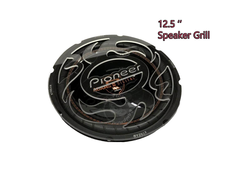 CAR AUDIO SPEAKER GRILL 12.5 INCH COVERS PAIR (PIONEER)