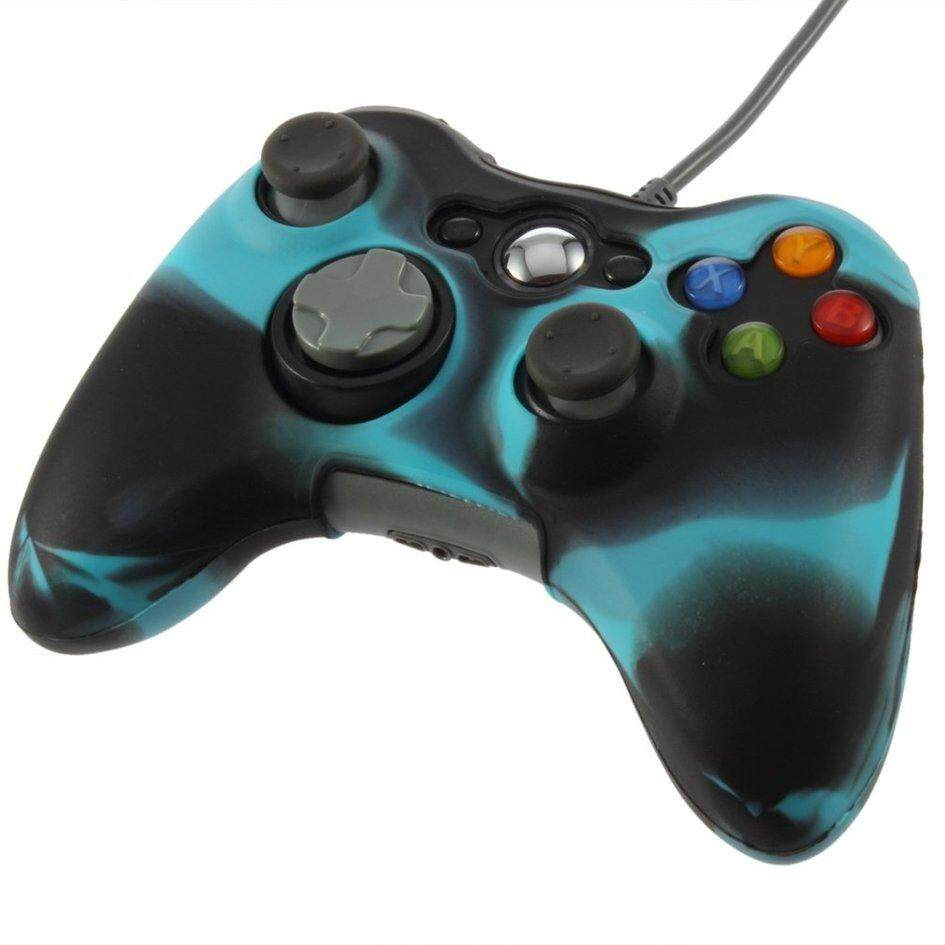 Silicone Cover Case Skin for Xbox 360 Wireless Controller