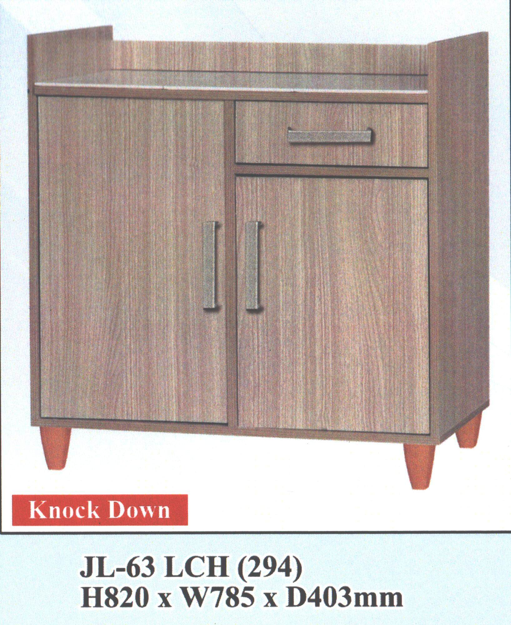 2.5ft Low Kitchen Cabinet DIY Easy Installation