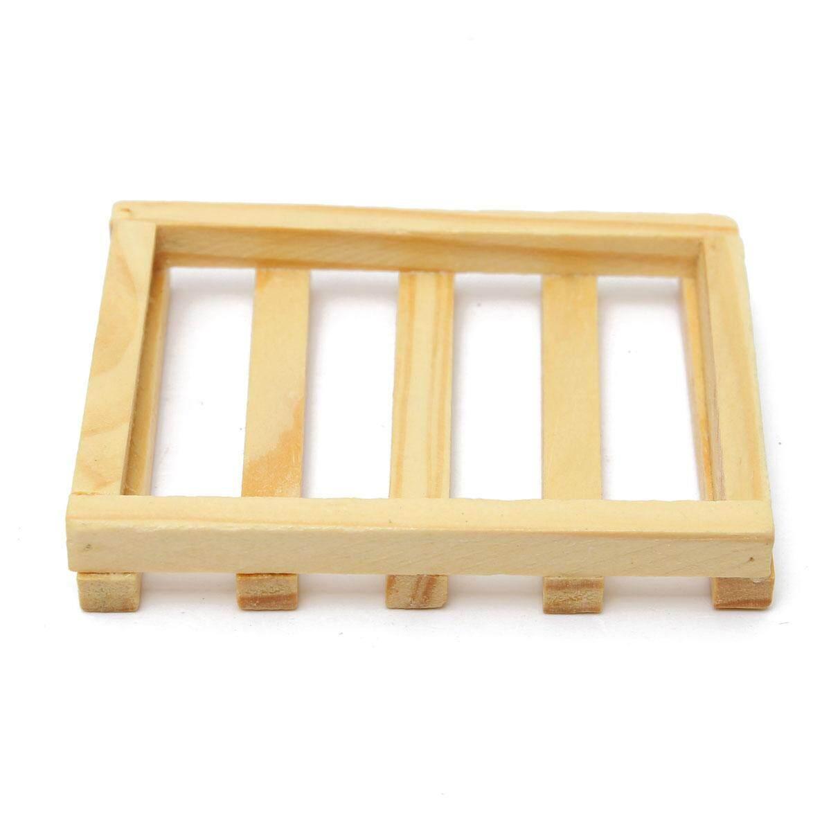 8.5x6 cm Gỗ Nhà Bếp Phòng Tắm Bọt Biển Xà Bông Tấm Hộp Đựng Hộp Đựng Kệ