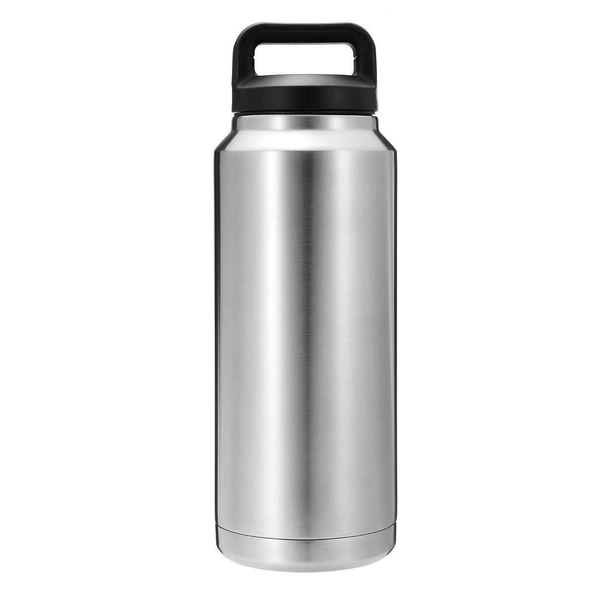 8 Oz/36 Oz/64 Oz Baja Anti Karat Sekat Vakum Botol Air Minum untuk Bepergian Cangkir Termos 36 Oz-Intl