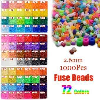 ชุดลูกปัดรีด 1000 ชิ้น/ถุง 5 มม. ลูกปัดเพื่อการเรียนรู้ 50 สี PEG เด็กศิลปะและหัตถกรรม