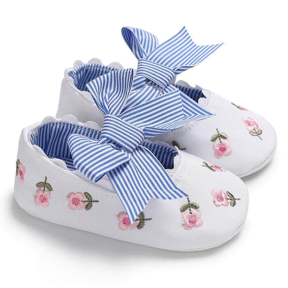 Sepatu Harga Terupdate 1 Jam Lalu Homyped Viola B 25 Black Lucky G Baby Girls Cotton Cloth Soft Sole Non Slip Shoes Bowknot Embroidery Princess