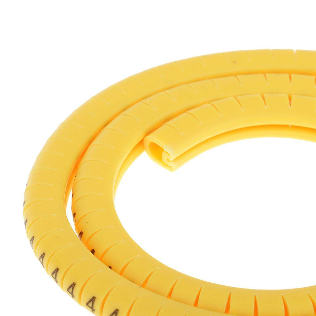 1000x Yellow Cable Markers Marker Number Tag Label Number No 0~9 2.5mm²