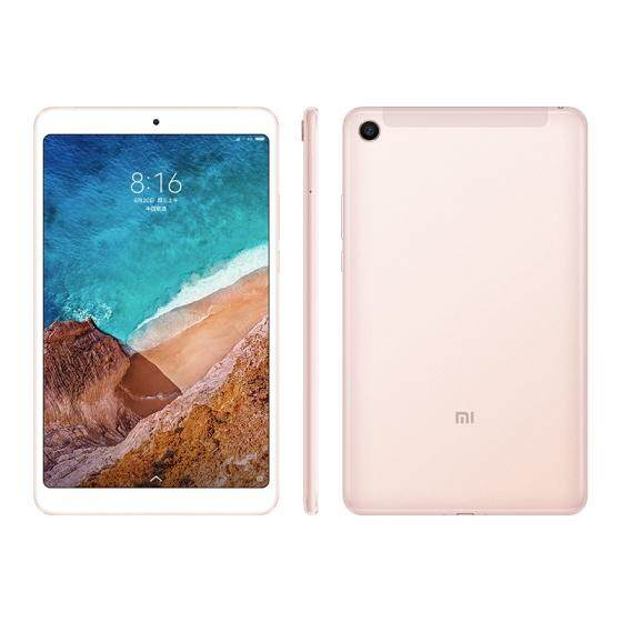 Xiaomi Mi Pad 4 Tablet PC 8.0 inch MIUI 9 Qualcomm Snapdragon 660 Octa Core 3GB RAM 32GB eMMC ROM 5.0MP + 13.0MP Front Rear Cameras Dual WiFi
